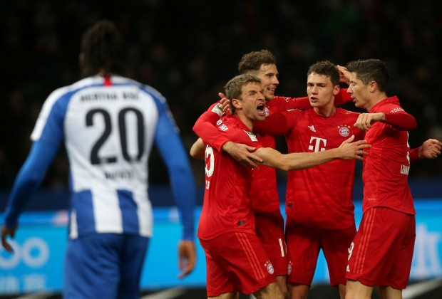 Bundesliga Report: Hertha Berlin v Bayern Munich 19 January 2020