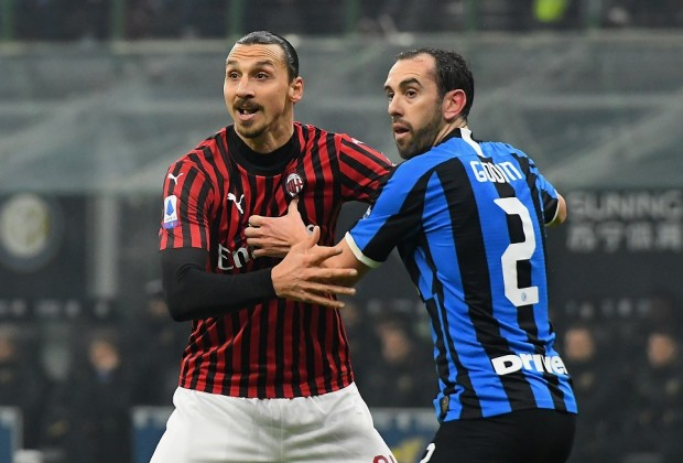 Serie A Report Inter Milan V Ac Milan 09 February 2020