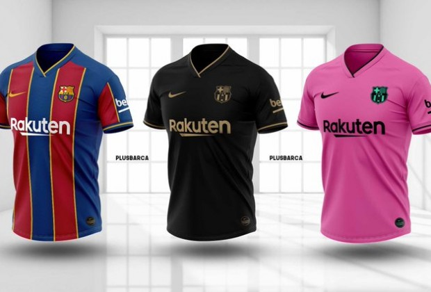 New Fc Barcelona Home Kit Leaked Before El Clasico