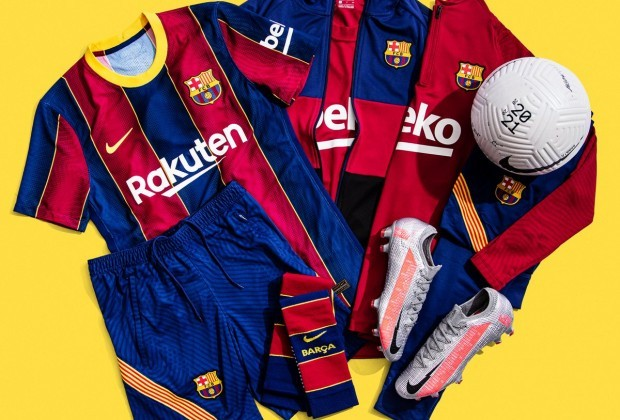 How Does Fc Barcelona S 2020 21 Home Kit Stack Up To Leaked Away