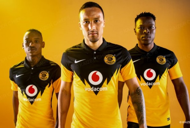 Kaizer Chiefs Have Unveiled Their Home And Away Kits