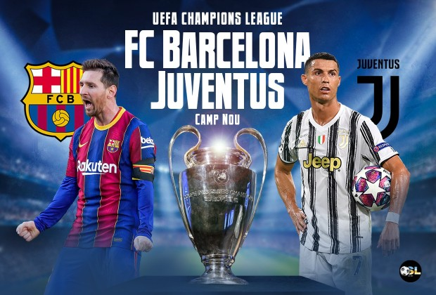 Uefa Champions League Starting Xi Fc Barcelona Vs Juventus