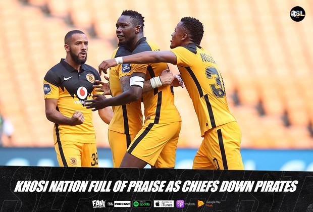 Kaizer Cheifs Claim all 3 points and bragging rights!